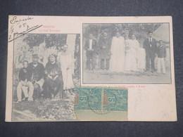 POLYNÉSIE FRANÇAISE - Carte Postale De Avera , La Famille Royale , Cp Voyagé En 1905 - L 14917 - French Polynesia