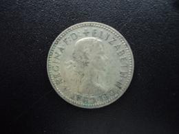 AUSTRALIE : 1 SHILLING  1955 (m)   KM 59  TTB - Monnaie Pré-décimale (1910-1965)