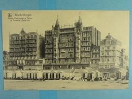 Blankenberghe Hôtels Continental & Palace Et Excelsior Belle-Vue - Blankenberge