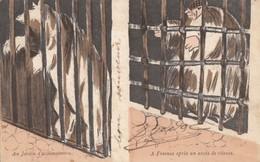 CPA - La Prison - Au Jardin D'acclimatation - A Fresne Après Un Excés De Vitesse - Humour