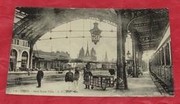 21 - Dijon - Gare Dijon Ville :::: Animation - Trains - Wagons - Chemin De Fer ---------- 456 - Stations With Trains