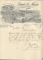 Hongrie - Budapest  Entête 1899 - Zwack J.Es Tarsai - Likör Különlegességekgyara. - Invoices & Commercial Documents