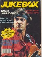 Magazine JUKEBOX  N ° 20  De 1988 :  BRUCE SPRINGSTEEN , FRANCE GALL ,   , Etc .................. - Objets Dérivés