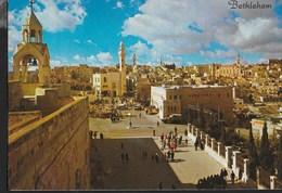 ISRAELE - BETHELEHEM - PANORAMA - VIAGGIATA 1978 FRANCOBOLLO ASPORTATO - Israele