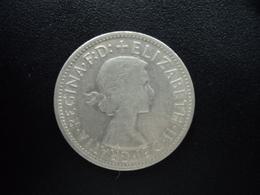 AUSTRALIE : 1 FLORIN  1954 (m)  KM 55    TTB - Monnaie Pré-décimale (1910-1965)