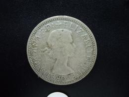 AUSTRALIE : 1 FLORIN  1959 (m)  KM 60    TB / TTB - Monnaie Pré-décimale (1910-1965)