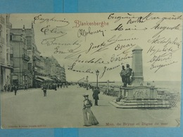 Blankenberghe Mon. De Bryne Et Digue De Mer - Blankenberge