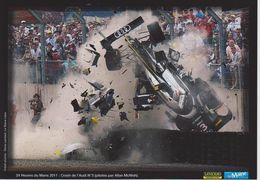 24 Heures Du MANS  2011 Crash De L'AUDI N° 3 A.McNISH - Le Mans