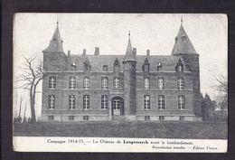 CPA BELGIQUE - LANGEMARK - Campagne GUERRE 14-18 - Le Château De Langemark Avant Le Bombardement - Langemark-Poelkapelle