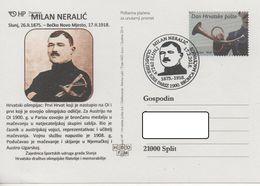 Croatia, Olympic Games Paris 1900, M. Neralic Bronze Medal - Fencing - Summer 1900: Paris