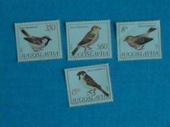 OISEAUX- Série Neuve  Xx N°  1811/14 De YOUGOSLAVIE - Sparrows