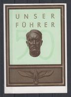 Dt.Reich/Memelgebiet Befreiungs-o Heydekrug 1939 Auf Propagandakarte Mit Aufdruckwert Litauen - Memelgebiet