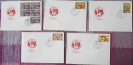 """UdSSR CCCP Sowjetunion 1984 - Sportwettkämpfe """"DRUSCHBA '84"""", Moskau - MiNr 5451-1525 FDC - Briefmarken"""