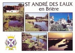 44 SAINT ANDRE DES EAUX EN BRIERE / MULTIVUES / BLASON - France