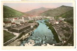 CPSM.Photo.couleur - Usine De Tannins Progil  - ST-SAUVEUR-de-MONTAGUT - Autres Communes