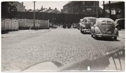 Photo MARCHE EN FAMENNE Nationale 4 PASSAGE A NIVEAU Train Marchandises VW Cocccinelle Beetle Kever 1950 - Foto - Marche-en-Famenne