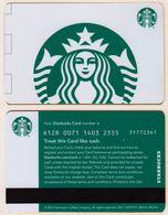 Starbucks - USA - 2016 - CN 6128 0071 White Siren - Gift Cards