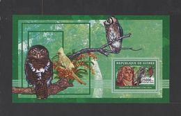 GUINEE. YT Bloc 361 Neuf **  Ornithologues. Faune. Oiseaux  2006 - Guinee (1958-...)