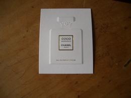 Carte Chanel Coco Mademoiselle - Modernes (à Partir De 1961)
