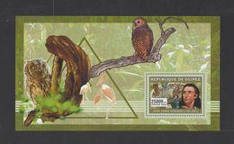 GUINEE. YT Bloc 363 Neuf **  Ornithologues. Faune. Oiseaux  2006 - Guinee (1958-...)