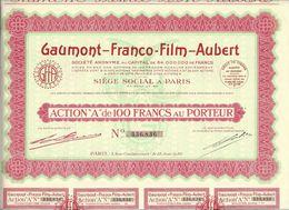 GAUMONT FRANCO FILM AUBERT PARIS CINEMA 1930 B.E.VOIR SCANS - Cinéma & Théatre