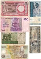 Africa Lot 6 Banknotes - Other - Africa