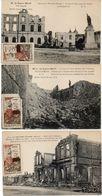 """3 CPA Avec Vignette Non Postale """"Journée De La Meuse 4 Mars 1917 - REVIGNY-Fort De VAUX-FRESNES EN WOEVRE(103617)) - France"""