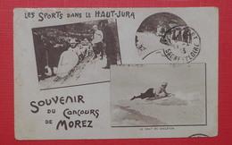 39 Morez - Souvenir De Concours Soprts Dans Le Haut Jura - Morez
