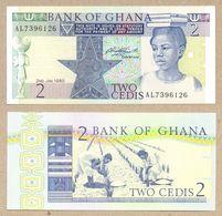 Ghana 2 Cedis  1980   P18b  UNC - Ghana