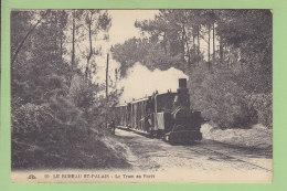 LE BUREAU SAINT PALAIS : Le Tram En Forêt. Train. 2 Scans. Edition Cap - Andere Gemeenten