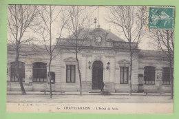 CHATELAILLON  : L'Hôtel De Ville.  2 Scans. Edition B L L R - Châtelaillon-Plage