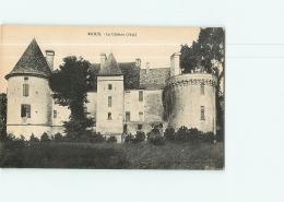 RIOUX : Le Château. TBE. 2 Scans. Edition ? - Andere Gemeenten