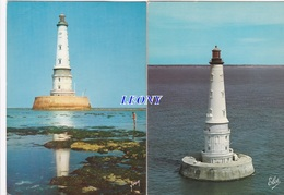 2 CPM De CORDOUAN   (33) -  Le PHARE - 1965/1981 - Autres Communes