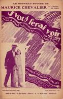 J'vous Ferai Voir   Chevalier Maurice 1888 1972  Partition  Musicale  Ancienne - Spartiti