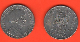 Albania Italiana 1 Lek 1939 Magnetico - Colonies