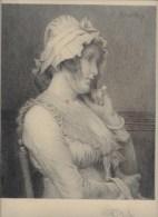Lithographie ,jeune Femme - Lithographies