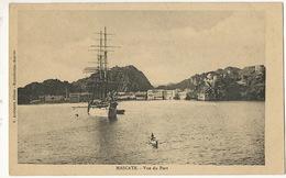 Oman Mascate Vue Du Port . Muscat  Edit K. Arabiantz Djibouti Sailing Ship In The Harbour - Oman