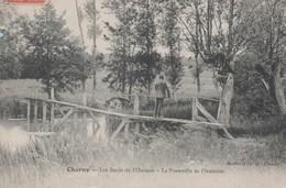 CHARNY - Les Bords De L'Ouanne - La Passerelle De Plennoise - - Charny