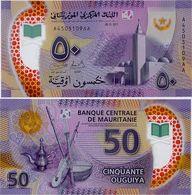 MAURITANIA       50 Ouguiya       P-New       28.11.2017 (2018)       UNC - Mauritania