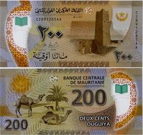 MAURITANIA       200 Ouguiya       P-New       28.11.2017 (2018)       UNC - Mauritania