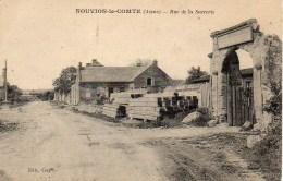 02 NOUVION-le-COMTE   Rue De La Sucrerie - France