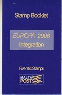 Europa Cept 2006 Malta Booklet ** Mnh (37949) - 2006