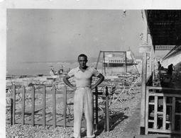 Photo  Authentique -   NICE - Location Sur La Plage ?   ( écrit Au Dos Ren Afred Binet Maison 3 Bianqui Nice Zangarelli - Lieux