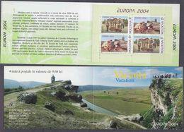Europa Cept 2004 Moldova Booklet ** Mnh (37951) - 2004