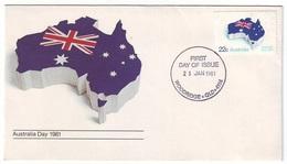 AUSTRALIA FDC 740 - Australia