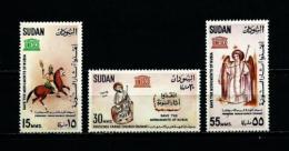 Sudán  Nº Yvert  162/4  En Nuevo - Sudan (1954-...)