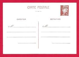 Entier Postal Vierge Type Pétain à 1.20 Franc - Entiers Postaux