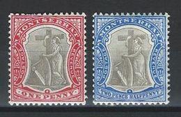 Montserrat SG 15, 17, Mi 12, 14 * MH - Montserrat