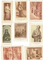 Lot 13 - IMAGE PIEUSE Religieuse - Saint François - Messe Noel à Greccio Mère Enceinte Pape Innocent III - Images Religieuses