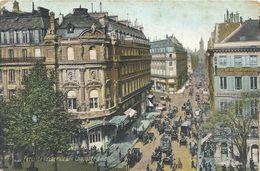 PARIS - LE ( Theatre )  VAUDEVILLE ET LA CHAUSSEE D'ANTIN . ECRITE AU VERSO - District 09